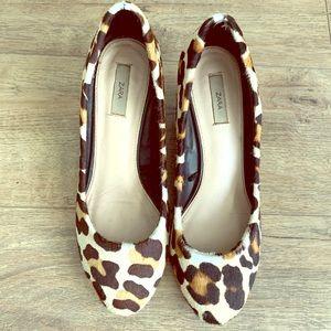 Zara leopard shoes
